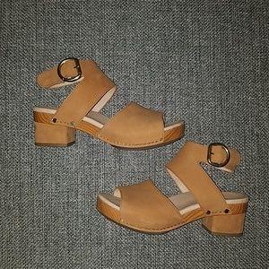 Tan Dansko sandals